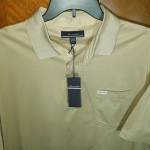 NWT: Faconnable Pocket Pique Polo Shirt XL